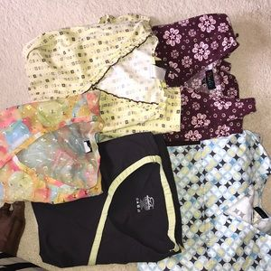 various Tops - Extra large scrub tops